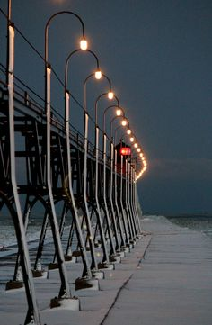 South Haven Michigan Lighthouse  by Tim Largent