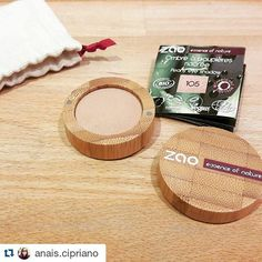 Merci pour ce test ! #Repost @anais.cipriano with @repostapp   My first test with #zao #makeup was brilliant!  Their makeup are without plastic in #bamboo #refillable #vegan and #organic. The composition is super #healthy the color is perfect... nude sparkling gold and it lasts one full day I will buy an other one from them when I will finish this one because I don't need too many colors I only have two eyes. /////////////////////////////////////////////////  Mon premier test de la marque de…