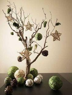 Seleção de Árvores de Natal diferentes e criativas para inspiração