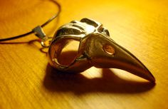 Bellatrix Bird Skull Necklace