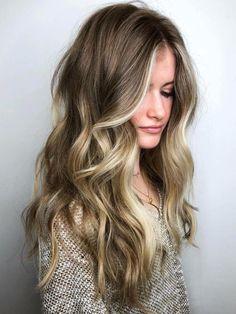 Long Hair With Face Framing Streaks
