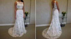Lace Wedding Dress White/Ivory Lace Bridal Dress by 7thprincess, $207.00- on Etsy!!!!