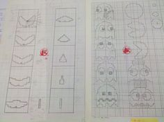 Toru Iwatani shows his original drafts for Pac-Man - Album on Imgur