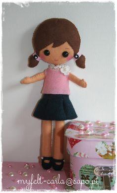 Felt doll by myfelt carla