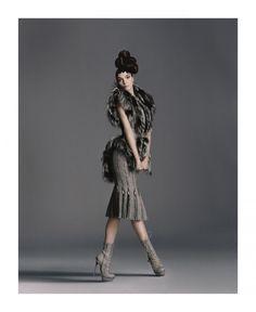 Designing Woman   Mariacarla Boscono   Daniele Duella & Iango Henzi #photography   Bergdorf Goodman Fall 2011