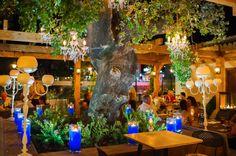 OAK Garden & Grill restaurant by Sala in Puerto Banus, Marbella Spain www.oakgardenandgrill.com