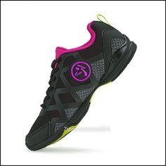 hot sale online 615dc 4e1fe ZUMBA Flex II Remix Shoe Trainer wZ Slide-Strong Fitness ~U DANCE ON any  surface. Black Adidas ShoesNike ...
