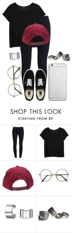 """BTS // Jimin Outfit"" by jessy-693 ❤ liked on Polyvore featuring Paige Denim, Vans, Monki, Brixton, Bling Jewelry and Native Union"