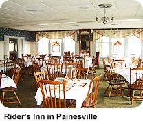 Thanksgiving dinner at Rider's Inn in Painesville, Ohio, via @Lake County Ohio Visitors Bureau