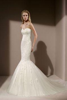 robe de mariée glamour sirène