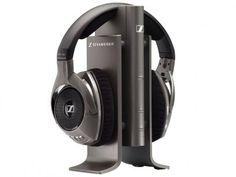 Headphone Sem Fio RS 180 - Sennheiser Bivolt http://www.magazinevoce.com.br/magazineevrson/p/headphone-sem-fio-rs-180-sennheiser/105542/