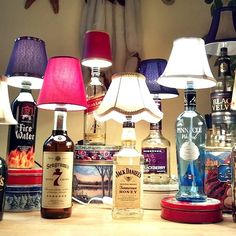 Intelligent Ways to Use Your Old Wine Bottles (33)