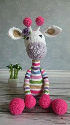 Lovely Crochet an Amigurumi Rabbit Ideas Mesmerizing Crochet an Amigurumi Rabbit Ideas. Lovely Crochet an Amigurumi Rabbit Ideas. Crochet Giraffe Pattern, Crochet Animal Patterns, Stuffed Animal Patterns, Amigurumi Patterns, Crochet Animals, Crochet Crafts, Crochet Dolls, Crochet Projects, Diy Crafts