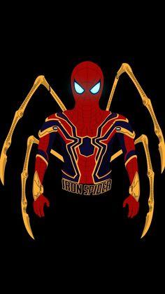 Iron suit, Spider-man, marvel, minimal, 720x1280 wallpaper