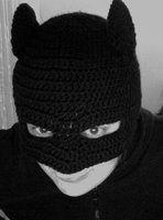 Crochet Batman mask by ~Emm--Jay on deviantART -Inspiration