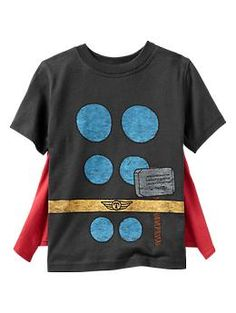 Junk Food™ Thor kids t-shirt with cape