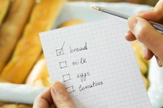 New research has found that making a shopping list before going to the supermarket can have a huge effect on the foods that you buy http://myweightlossdream.co.uk/making-a-shopping-list-is-essential-for-weight-loss-says-survey/ #weightloss #weightlossnews