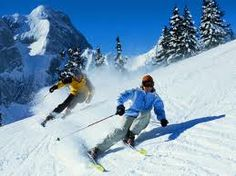 Skiing is one of my most favorite things to do. I hope to go skiing out West really soon. It's truly my happy place.