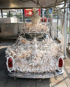 SeaShell Art Car by PerryPhoto2, via Flickr