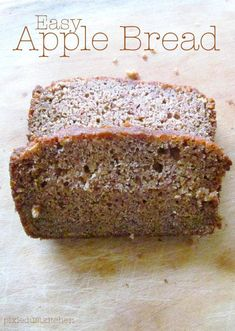 apple bread  Pixie Dust Kitchen