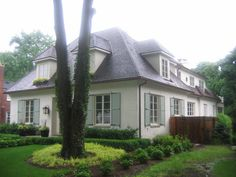 french country cottage | French Country Cottage | Sears Architects  Roof line