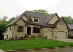 """""""Exteriors C"""" by  I like the accent stone work around the window and doors. I like arches"""