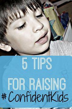 5 Tips for raising #ConfidentKids #cbias #ad
