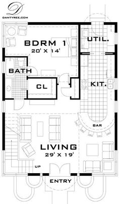 This is THE best small sf floor plan I have seen