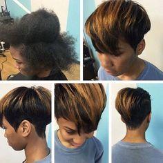 Short Hair Styles for Black Women and Girls