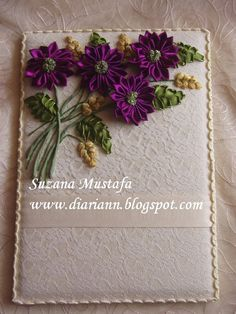 Suzana Mustafa: RIBBON EMBROIDERY DAILY PLANNER