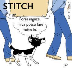 Stitch e il trasloco... seconda parte