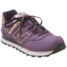 purple and gold new balance 574
