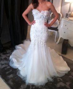 Mermaid wedding dress... omg this dress is sooooo sooooo soooo beautiful anyone know who is the designer?