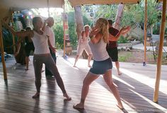 ZenmaX Body Orientated Mindfulness retreat Ibiza, breathing and coordination http://www.thefeel.org/