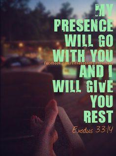 Rest. Exodus 33