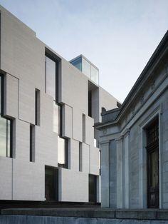 McCullough Mulvin Architects · Long Room Hub in Trinity College Dublin · Divisare