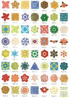 Op de site vind je de patroontjes van al deze haakwerkjes !