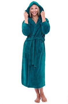 Women s Sleep   Loungewear - Alexander Del Rossa Womens Fleece Solild Robe 3474cf230