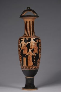 Bail Amphora, 330-320 BC                                                CA Painter (Greek)