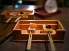 Tokyo - Grilled mochi at 豆腐料理 空ノ庭 tofu restaurant in Tokyo Japan by Melody Fury Photography. Food, Drink,