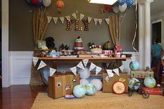 Sebastian's First Birthday party | CatchMyParty.com