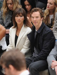 Celebrity Gossip & News   Benedict and Sophie Are Fashion Week's Cutest Front-Row Couple   POPSUGAR Celebrity UK Photo 1