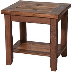 rustic end tables - make from pallets for display of head with books & one for porch