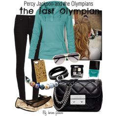 """""""Percy Jackson and the Olympians, The Last Olympian"""" by heroes-fashion on Polyvore"""