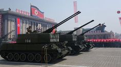 """North Korea warned it would make a """"preemptive and offensive nuclear strike"""" in response to joint U.S.-South Korean military exercises that began Monday.  The news was announced in a statement by the National Defense Commission of North Korea and publi..."""