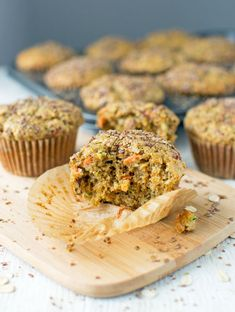 Morning Glory Muffins- full of healthy ingredients.  This portable breakfast will give you the energy you need to get through til lunch!