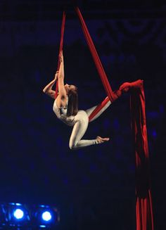 Aerial Ribbon Dance,
