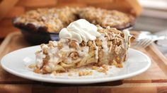How can you make apple pie extraordinary? The secret is in the cinnamon roll crust!
