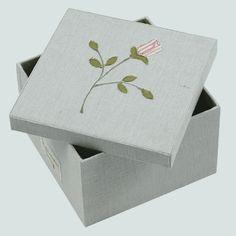 scatola di stoffa