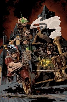 Découvrez dix des couvertures steampunk de DC Comics pour février | COMICSBLOG.fr